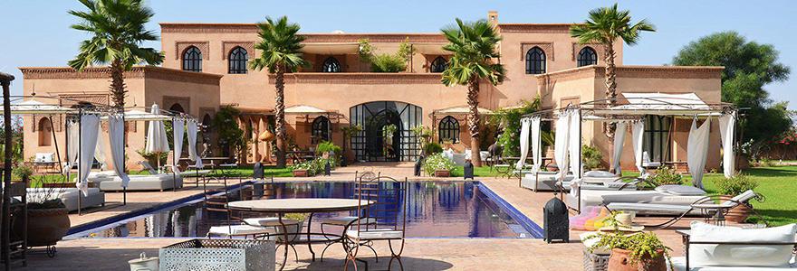 villa pour des vacances