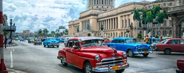 Réserver un voyage à Cuba